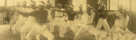 Tréninková jednotka v karate